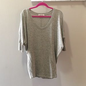Women's Grey Dolman Sleeve Shirt by Natural Life